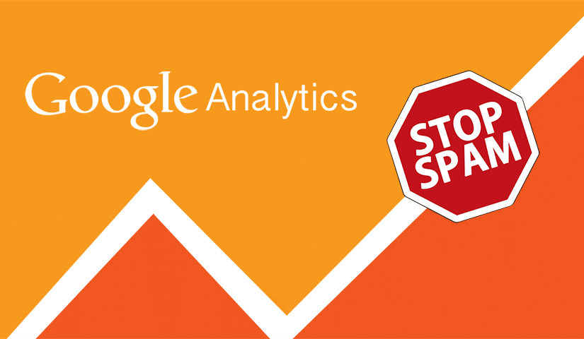 stop spam from ruining google your analytics data