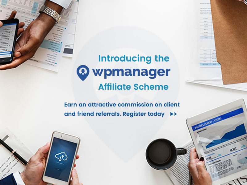 WP Manager Affiliate Scheme